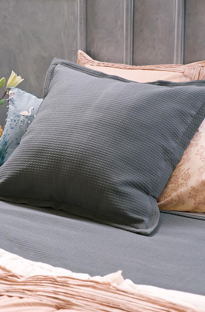 Bianca Lorenne - Valentina Slate Bedspread / Pillowcase/Eurocase image 2
