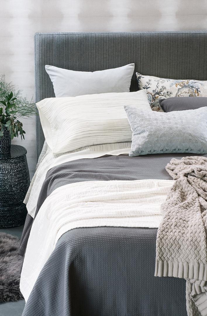 Bianca Lorenne - Valentina Slate Bedspread / Pillowcase/Eurocase image 0