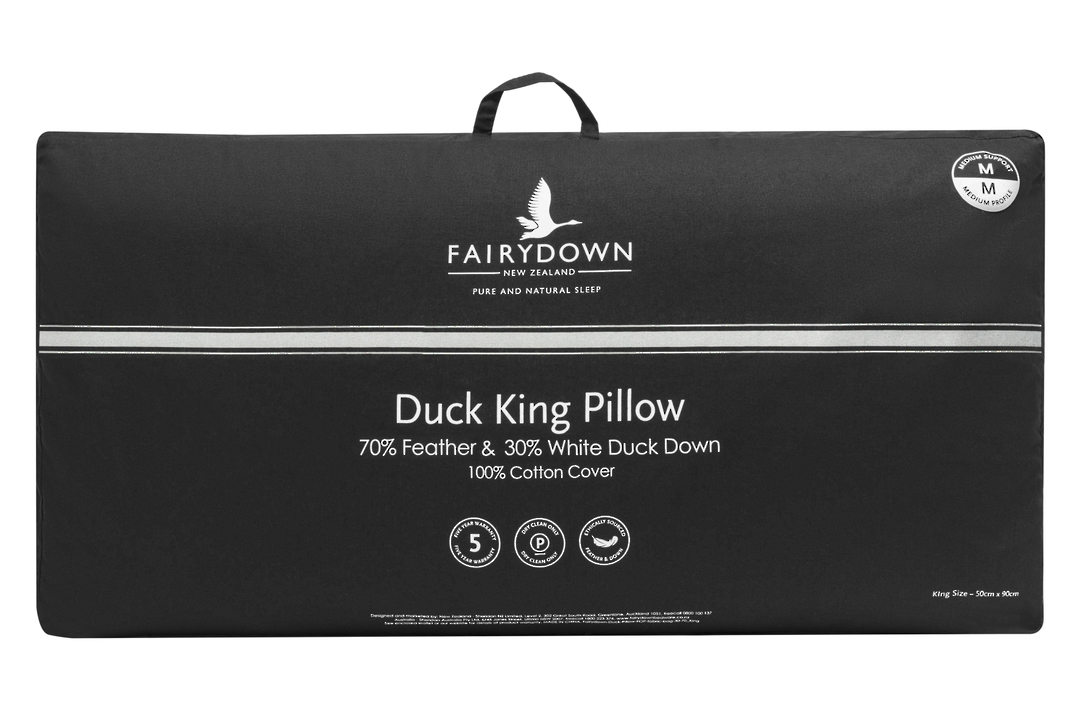 Fairydown  - King Duck Feather & Down Pillow 70/30 image 0