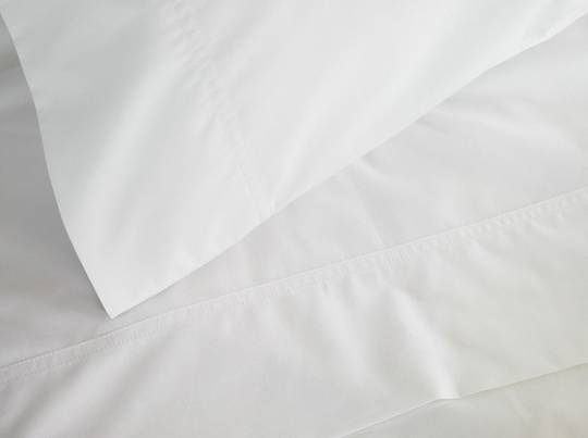 Baksana - 310 Percale White Sheet Set