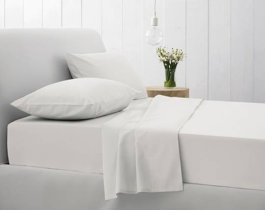 Sheridan - 500TC Egyptian Blend Twill Sheet Sets - Snow
