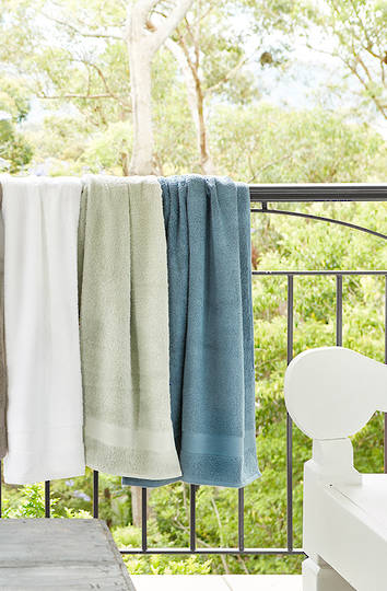 Baksana - Turkish Aegean Towels (Optic White)