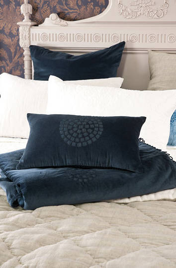 Bianca Lorenne - Aldo Indigo Cushion - ON SALE