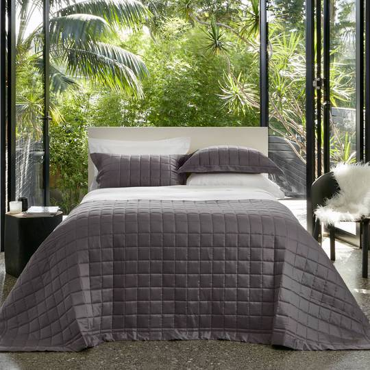 Baksana - Allure Comforter Set - Eclipse -  ON SALE