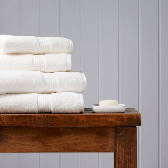Christy Supreme Hygro Towels, Hand Towels & Face Cloths - Almond