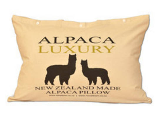 Novadown - 50/50 Luxury NZ Alpaca and NZ Lambswool 1000gsm Pillow