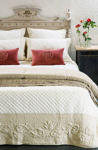 Bianca Lorenne Amboise Bedspread / Pillowcases Sold Separately