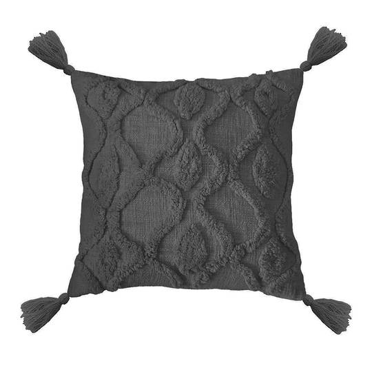 Bambury - Zoe Cushion - Charcoal