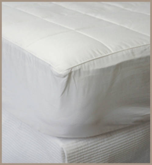 Silk Filled Mattress Underlay / Topper