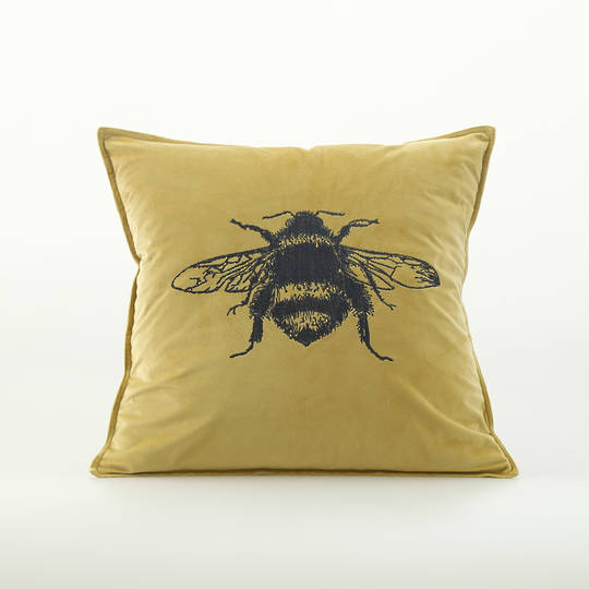 MM Linen - Beemine Cushion Raffia