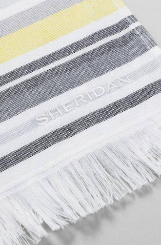 Sheridan Bramble Bay Lemon Beach Towel