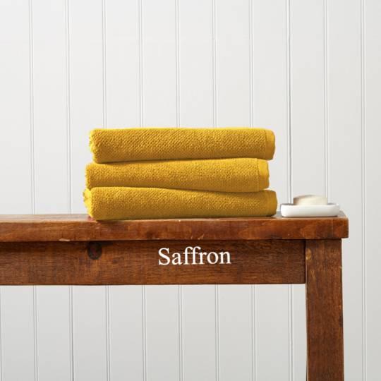 Seneca - Christy Brixton Towels, Hand Towels & Bath Mats - Saffron