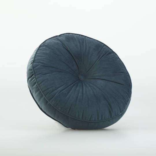 MM Linen - Dolci Cushion Bluestone