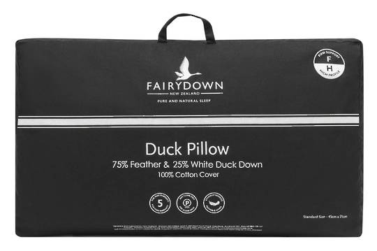 Fairydown  - Duck Feather & Down Pillow 75/25