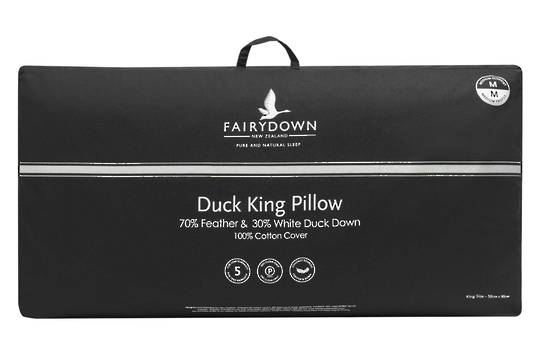 Fairydown  - Duck King Feather & Down Pillow 70/30