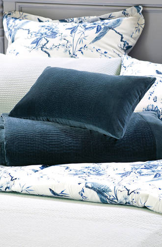 Bianca Lorenne Elba Indigo Comforter and Cushion