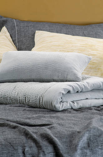 Bianca Lorenne - Elba Silver Comforter and Cushion