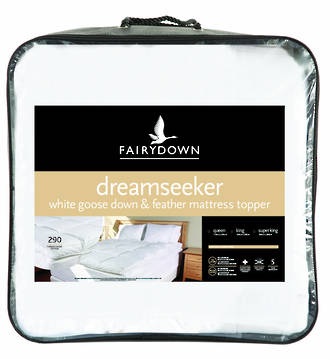 Fairydown Dreamseeker Feather and Down Mattress Topper