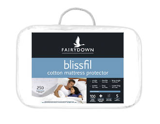 Blissfil All Natural Cotton Mattress Protector