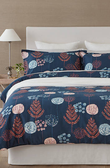 Baksana - Festive Night Duvet Cover Set - King - ON SALE