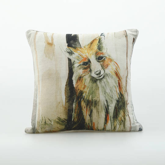 MM Linen - Fox Cushion