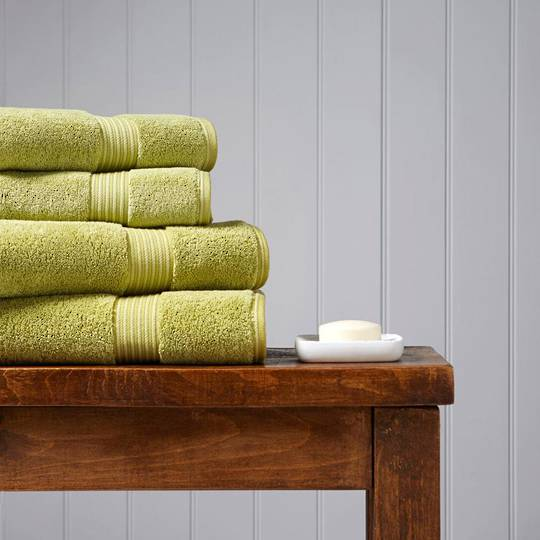 Christy Supreme Hygro Towels, Hand Towels & Face Cloths - Green Tea