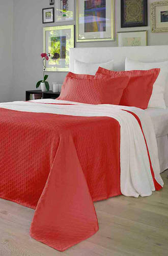 Baksana Eternity Persimmon Bedspread Set