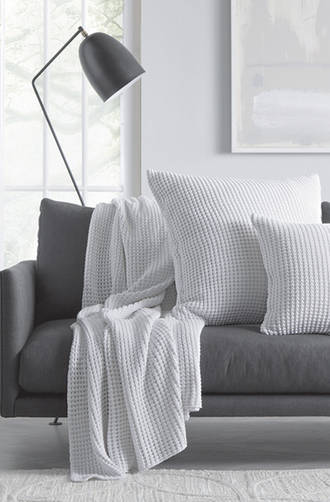 Sheridan Haden WhiteThrow & Cushions