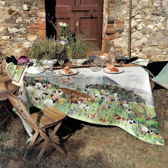 Tessitura Toscana Telerie - Heidi Cotton Table Cloths