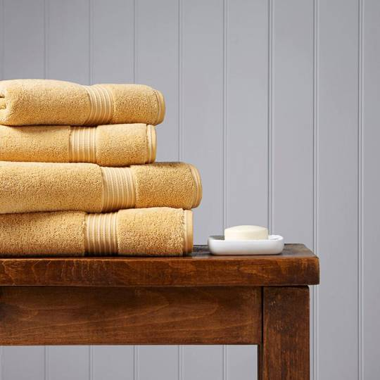 Christy Supreme Hygro Towels, Hand Towels & Face Cloths - Honey