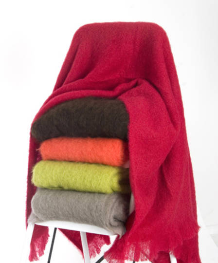 New Zealand Made Windermere Mohair Throws