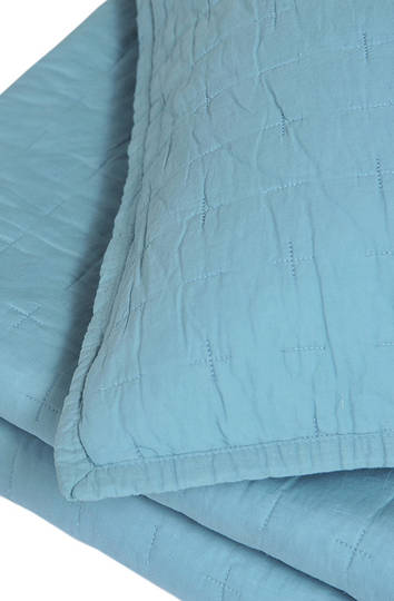 MM Linen - Luca Comforter Set- Blue