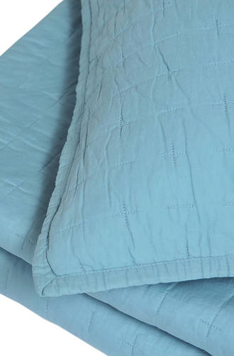MM Linen - Luca Blue Comforter Set