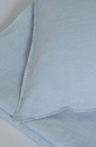 MM Linen - Laundered Linen Chambray Duvet Cover Set / Extra Pillowcase & Euro Sets Sold Separately