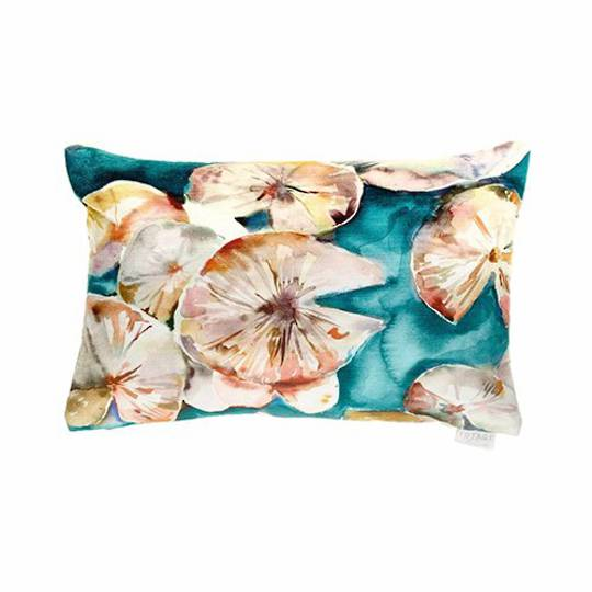 Voyage Maison - Lily Pad Cushion - Emerald