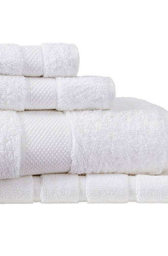 Sheridan Luxury Egyptian Cotton Towel & Face Washer - Snow