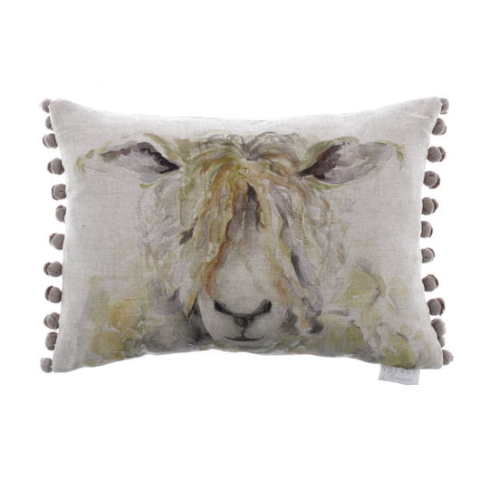Voyage Maison - Mr Woolly Linen Cushion