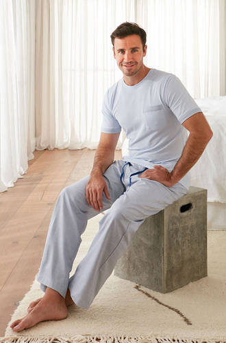 Baksana - Miami Casual PJ Set with Pants
