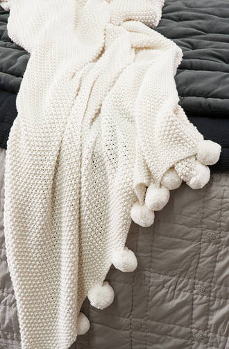 Bianca Lorenne Opaline Knitted Throw