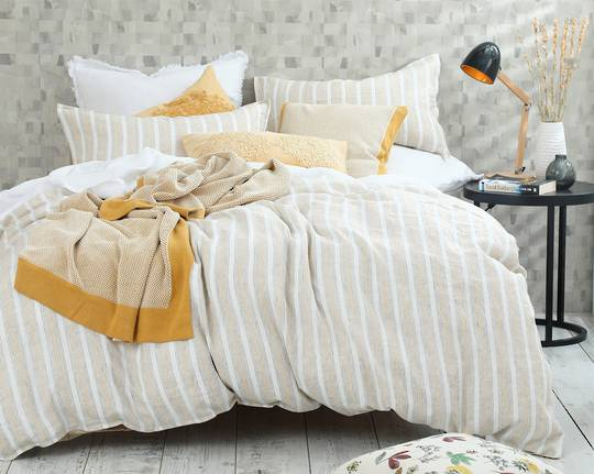 MM Linen - Finch Linen/Cotton Duvet Set