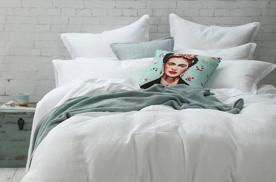 MM Linen - Cotton Waffle Duvet Cover Set