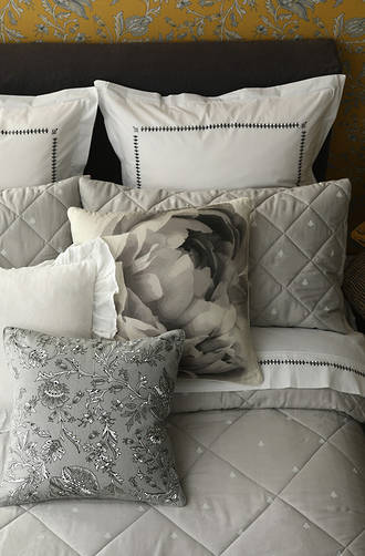 MM Linen - Bijou Comforter Set / Eurocase Set (1 Pair) Sold Separately