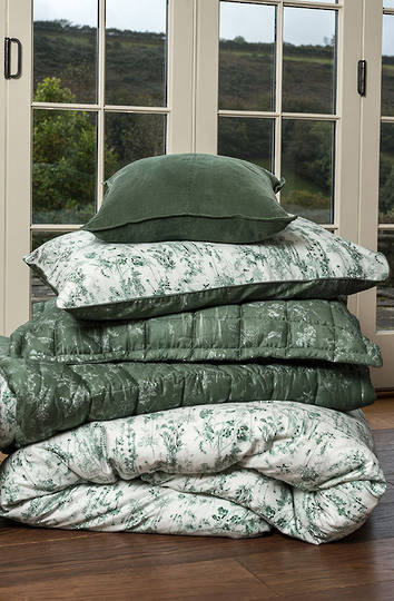 MM Linen - Meadow Comforter Set / Euro Set - Sold Separately