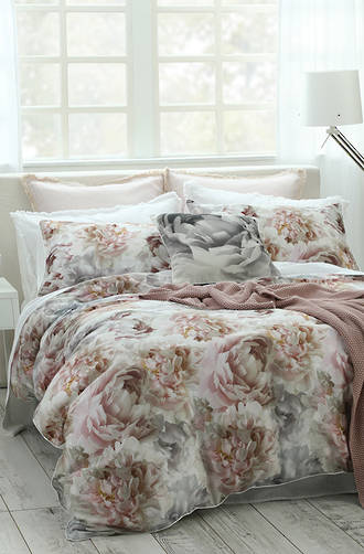 MM Linen - Lottie Duvet Cover Set / Eurocase Set (1 Pair) Sold Separately