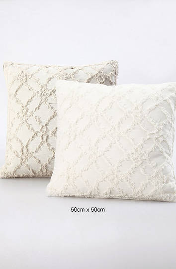 MM Linen - Clover Natural Cushions