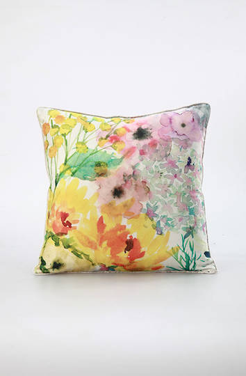 MM Linen - Emile Silk/Linen Cushion