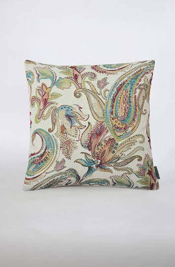 MM Linen - Pashmina Gemstone Cushion