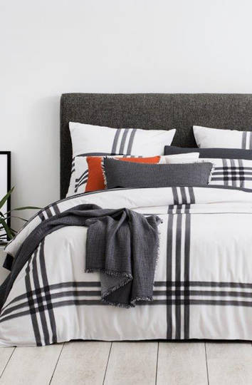 Sheridan - Parkers Carbon Duvet Cover / Pillowcases Sold Separately