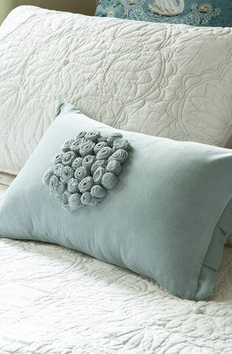 Bianca Lorenne - Petipa Duck Egg Cushion