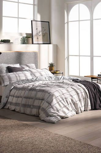 Sheridan Pickett Carbon Duvet Cover Set / Eurocase sold separately